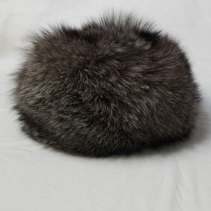 Accessories - Real Fur Russian Hat with Poms